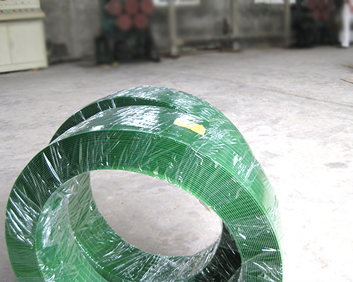 无纸芯塑钢带